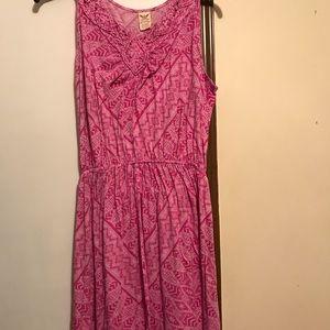 Dresses & Skirts - Women's Faded Glory Maxi dress Pink sz 1X